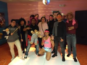 Fall 2019 Escape Room Outing with Guest Dr. Amanda Phillips: Escape an 80's Dance Party