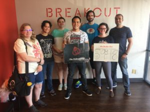 Fall 2018 SMP Escape Room Outing