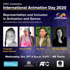 Representation and Inclusion in Animation and Games